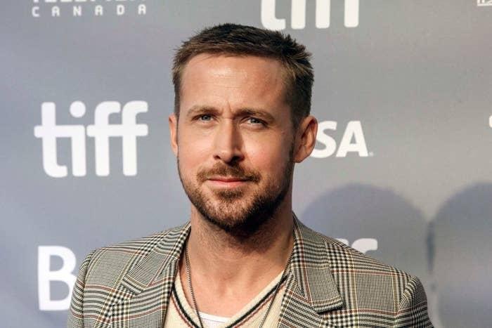 Ryan Gosling on the red carpet for the Toronto International Film Festival
