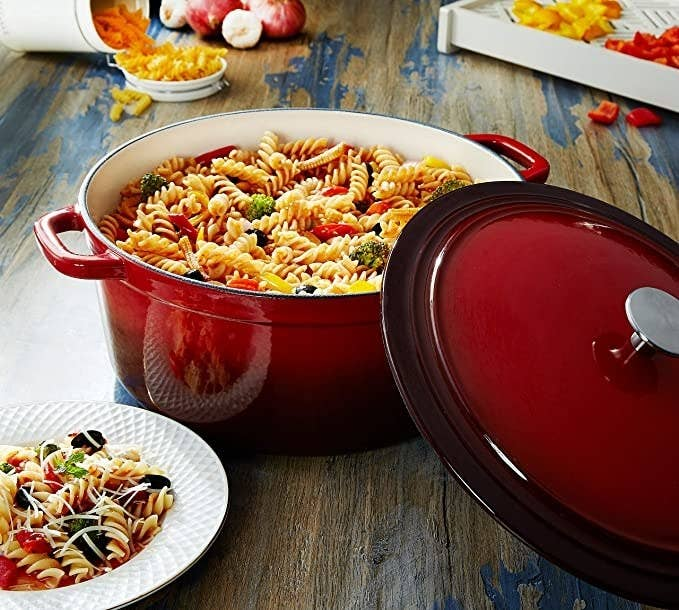 Pasta in the Dutch oven