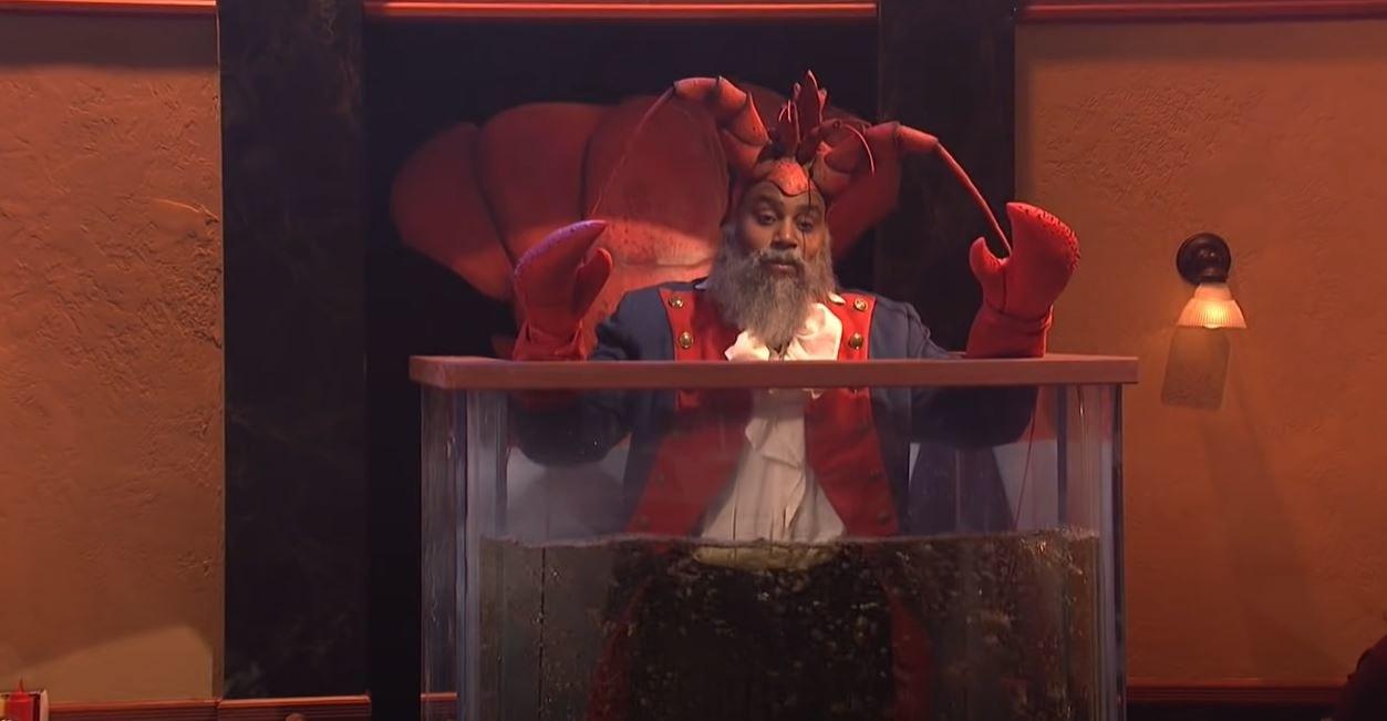 "Kenan Thompson in ""Diner Lobster"""