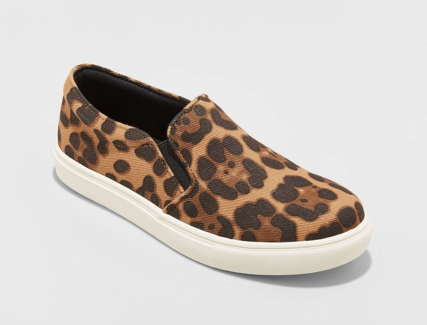 leopard print sneakers with a memory foam insole