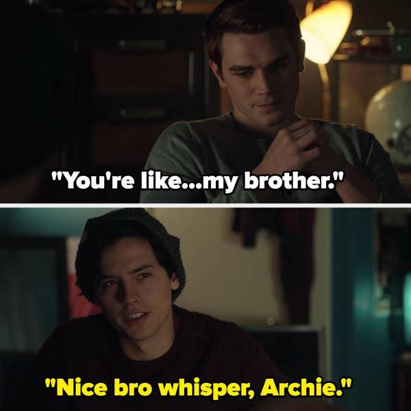 Jughead roasting Archie