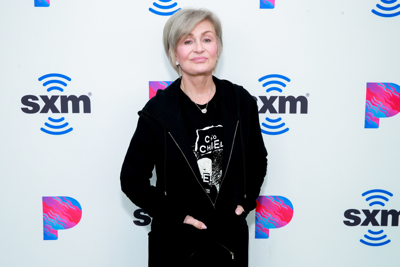 Osbourne at the SiriusXM Hollywood Studio in February 2020