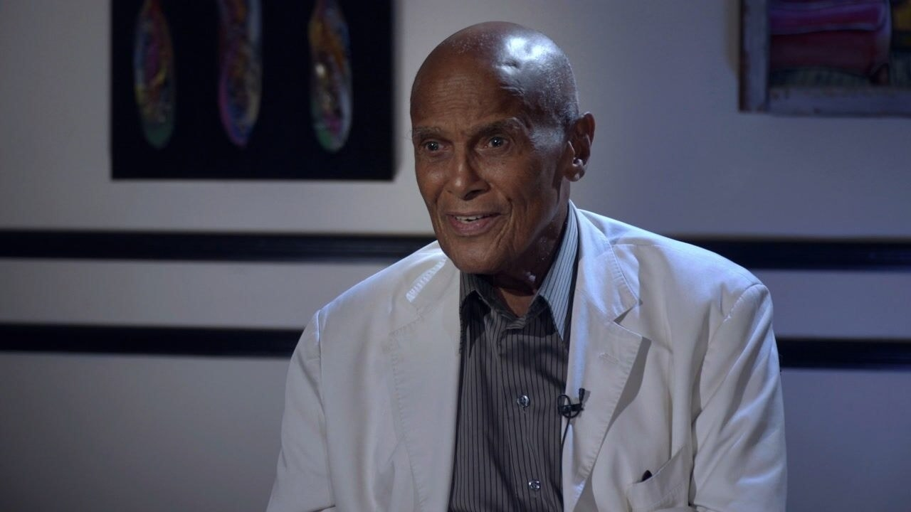 Harry Belafonte interviewed in the present day
