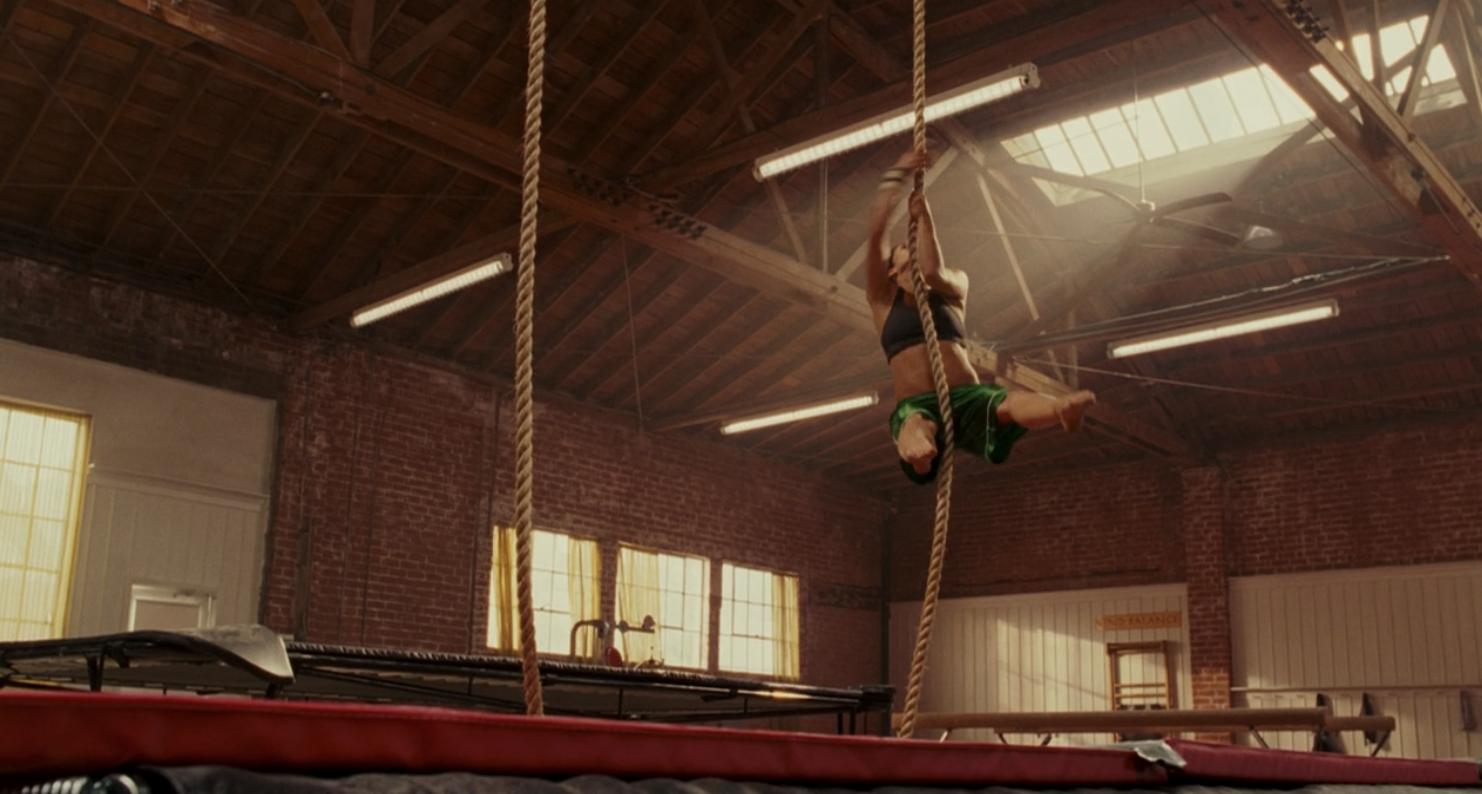 Haley rope climbing