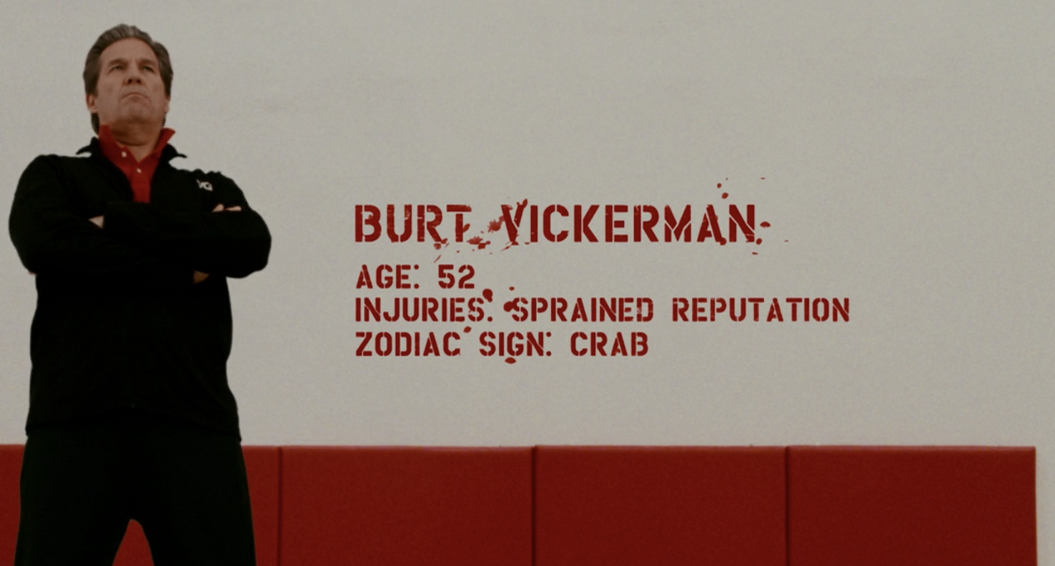 Title card for Burt Vickerman