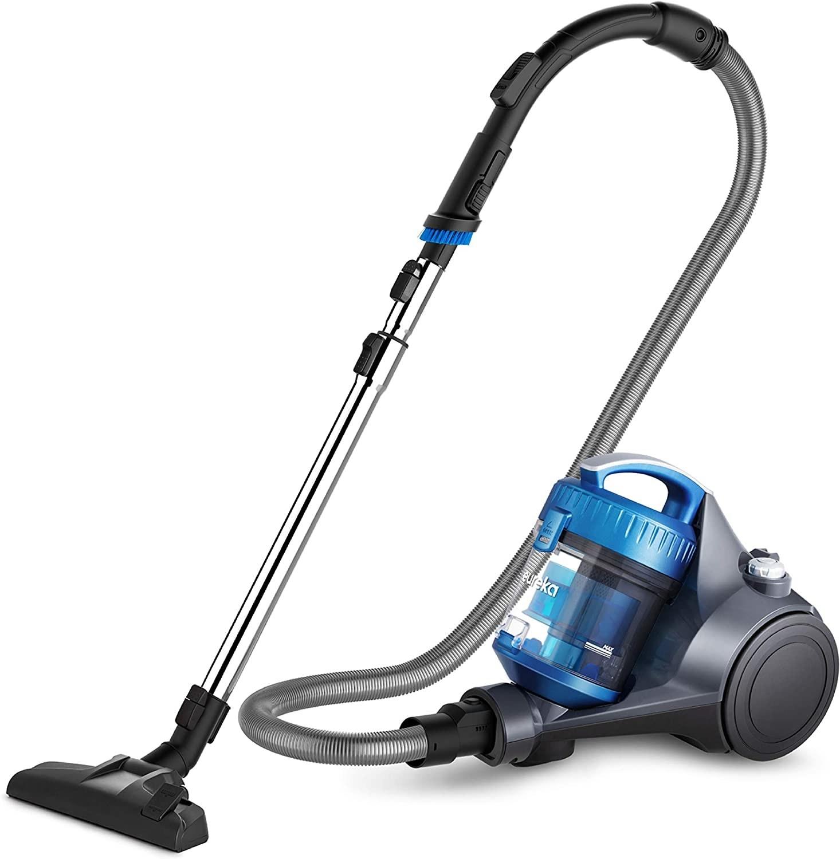 Lightweight blue and black vacuum
