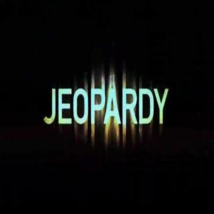 Jeopardy opening credit page