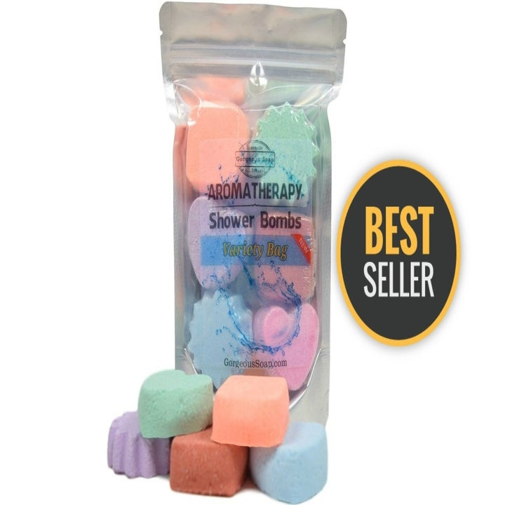 The bag of shower bombs