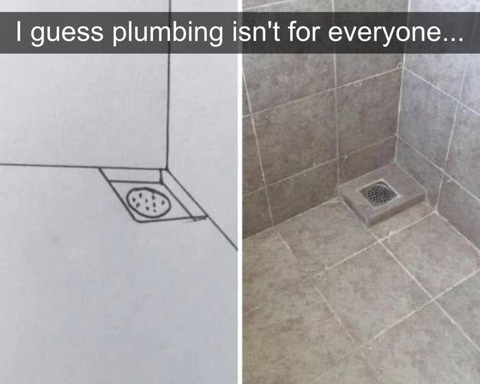 drain too high so it does nothing
