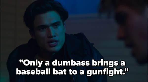 Reggie calls out Archie's poor defense strategy in Riverdale