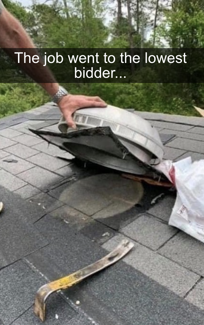 roof hood thats connected to nothing