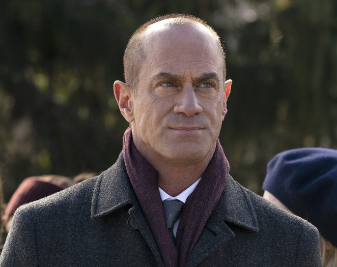 """Christopher Meloni in """"Law & Order: Organized Crime"""""""