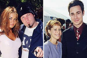 carmen electra and fred durst and freddie prinze jr and some rando