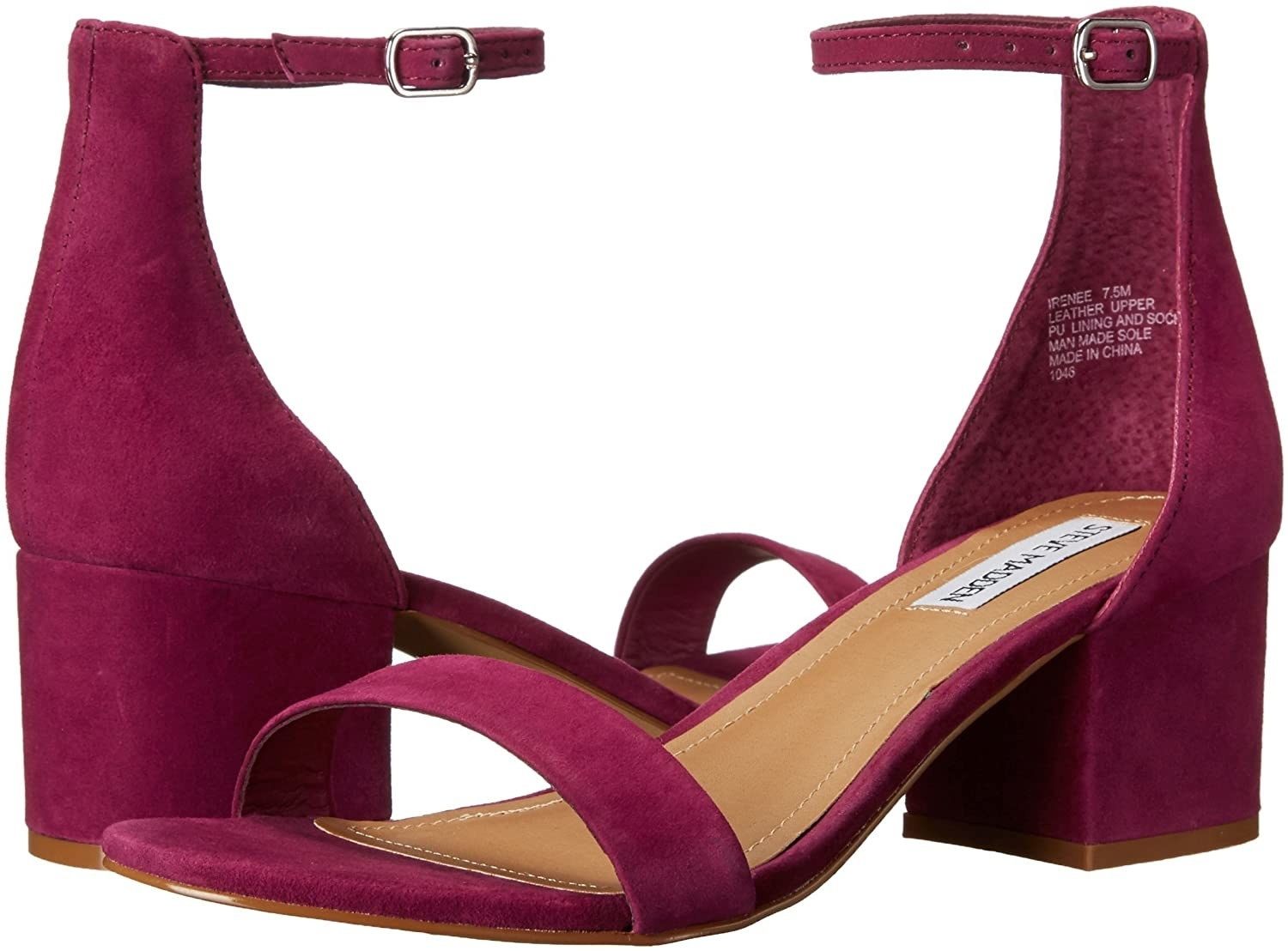 The low heeled sandals