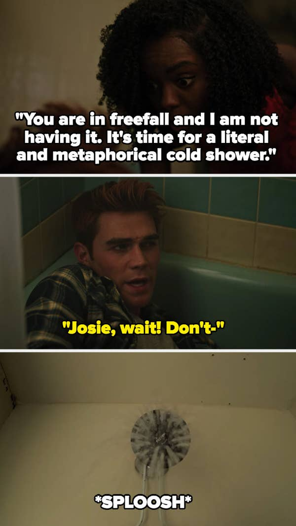 Josie's wakeup call to Archie