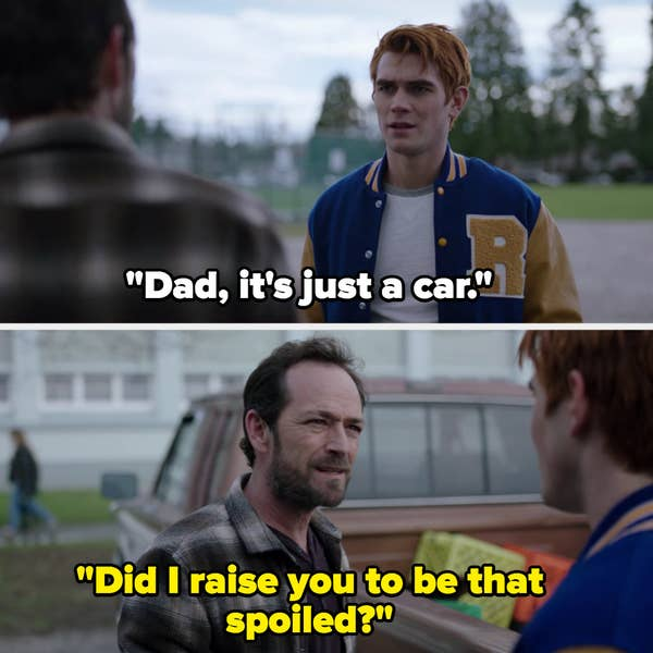 Archie and his dad