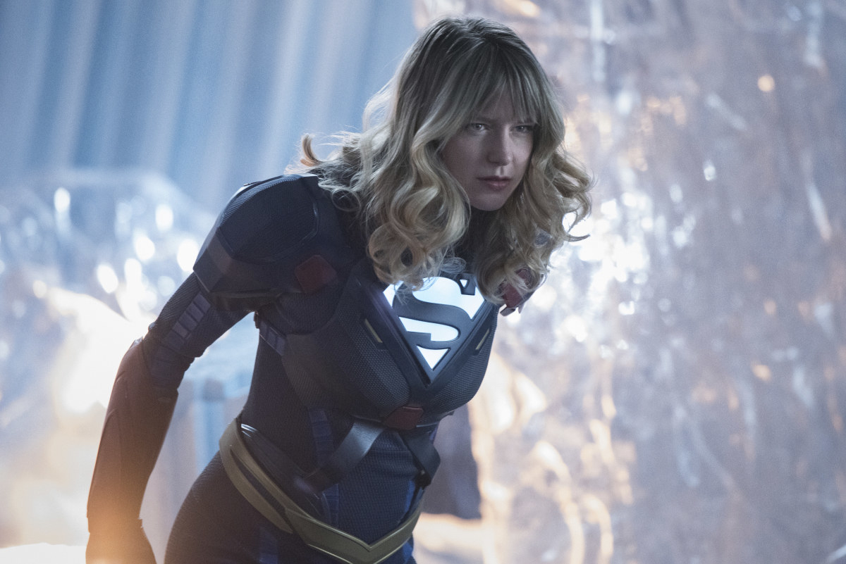 "Melissa Benoist as Kara/Supergirl in ""Supergirl"""