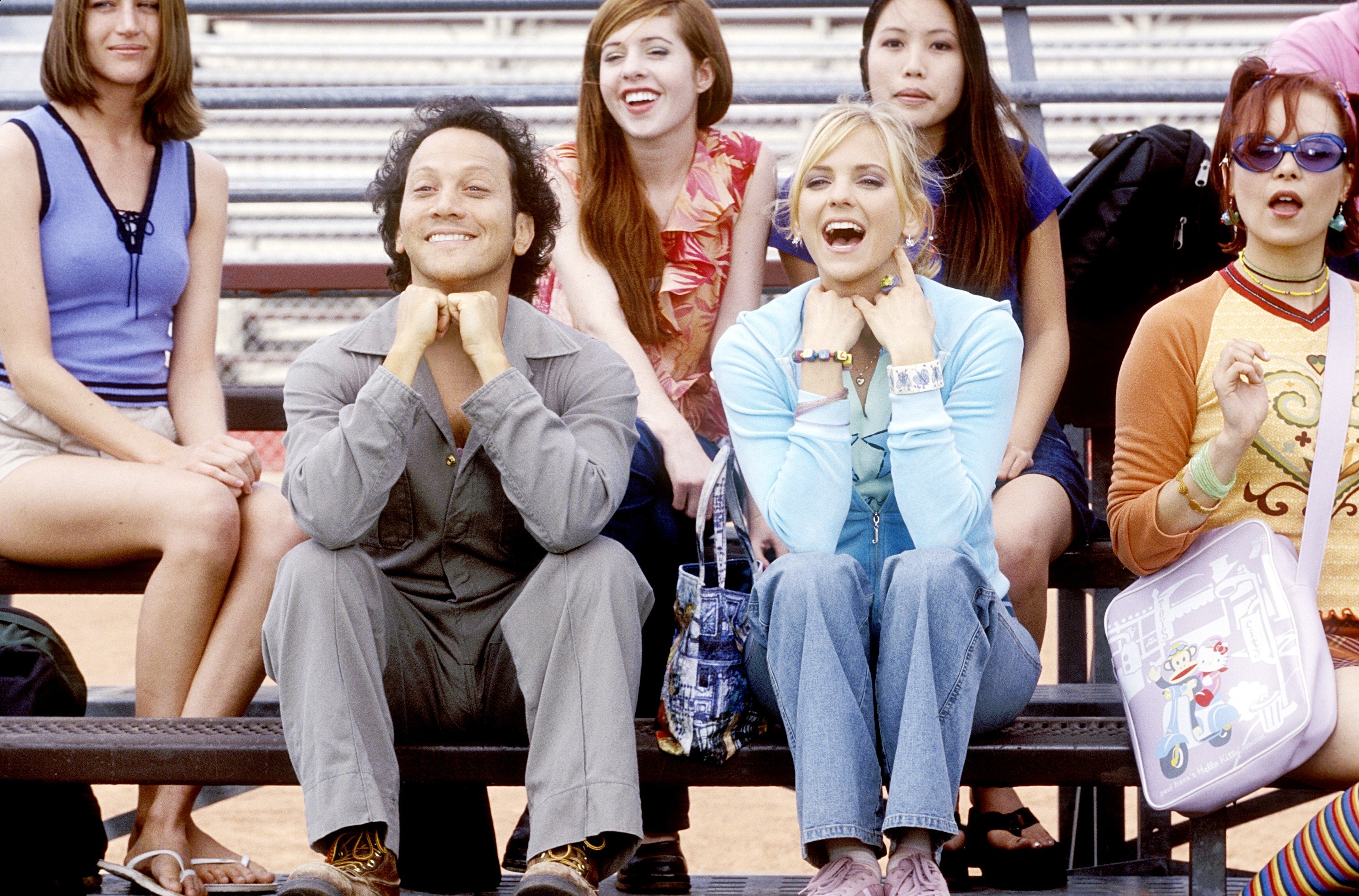 Rob Schneider and Anna Faris in the movie the hot chick