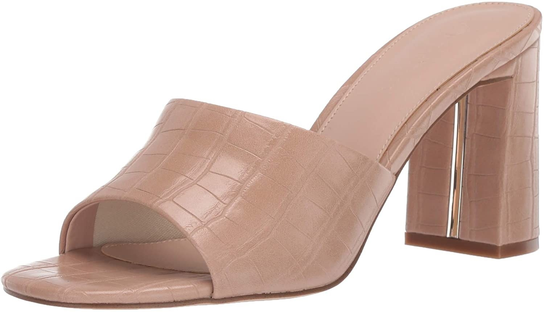 mule sandal on white background