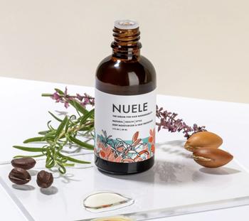 bottle of Nuele Hair Serum