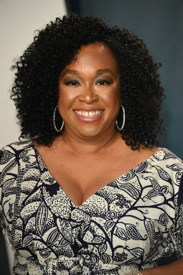 Shonda Rhimes at the 2020 Vanity Fair Oscar party