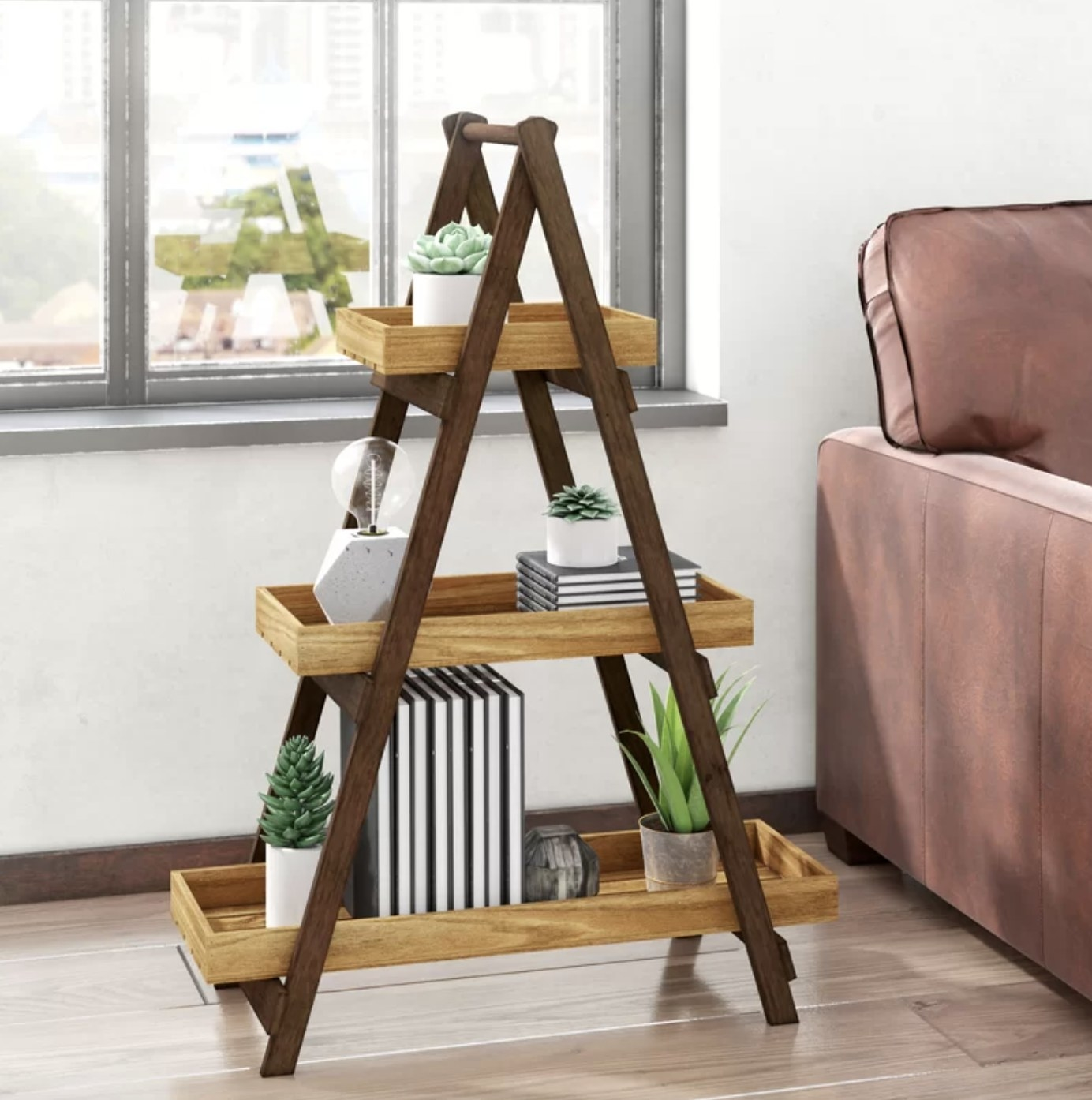 the multi tiered plant stand