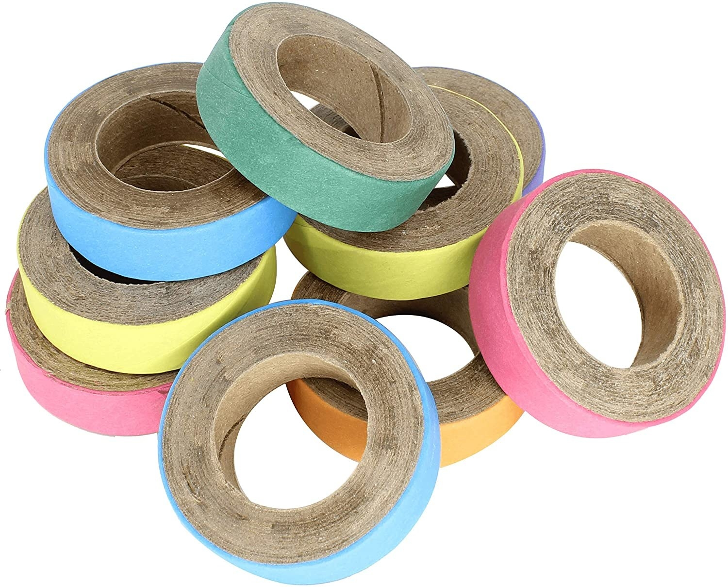 The bagel-shaped wooden toys