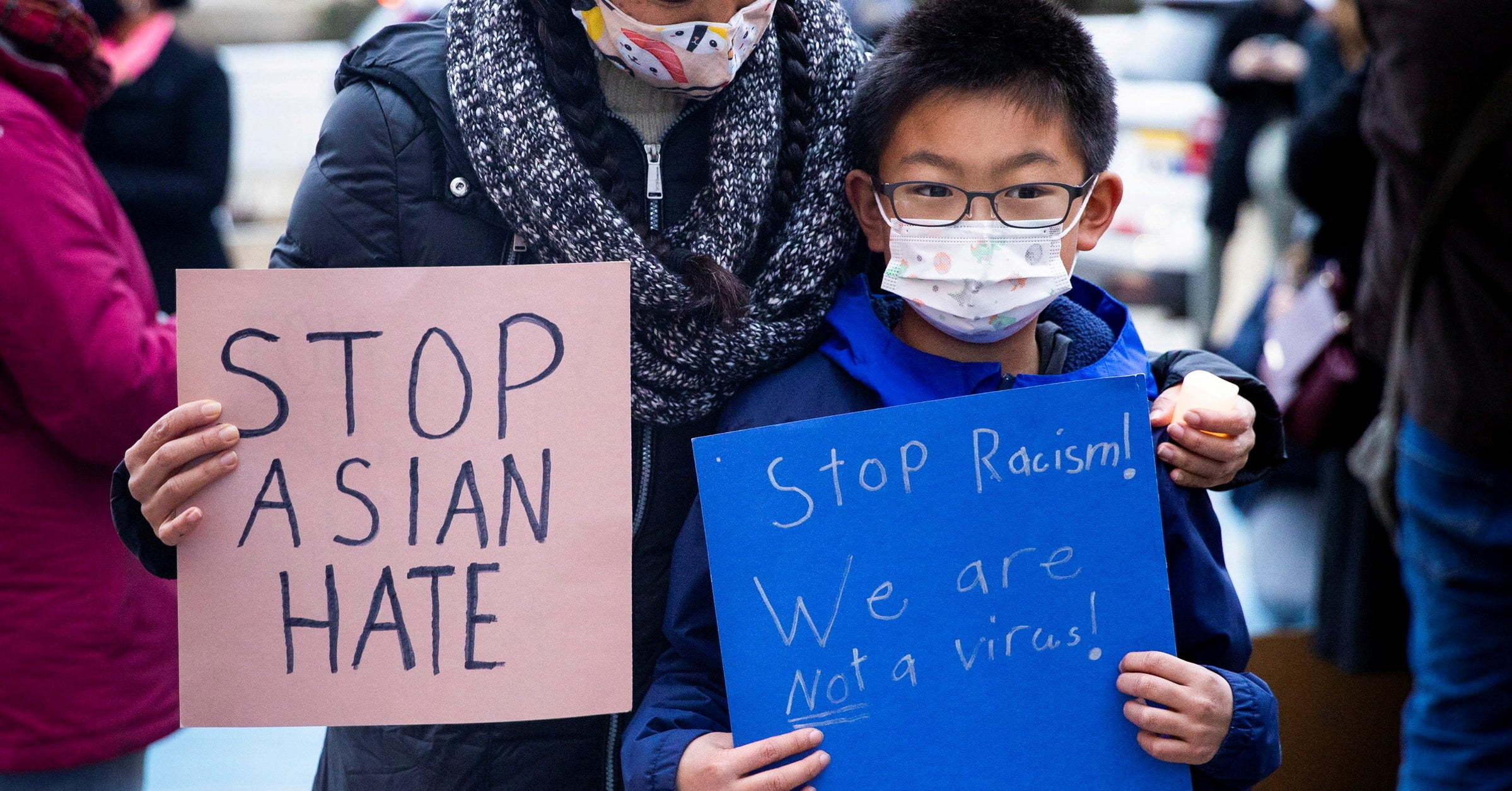 www.buzzfeednews.com: Asian Americans Have Been Protesting Violence Against Their Community For Months