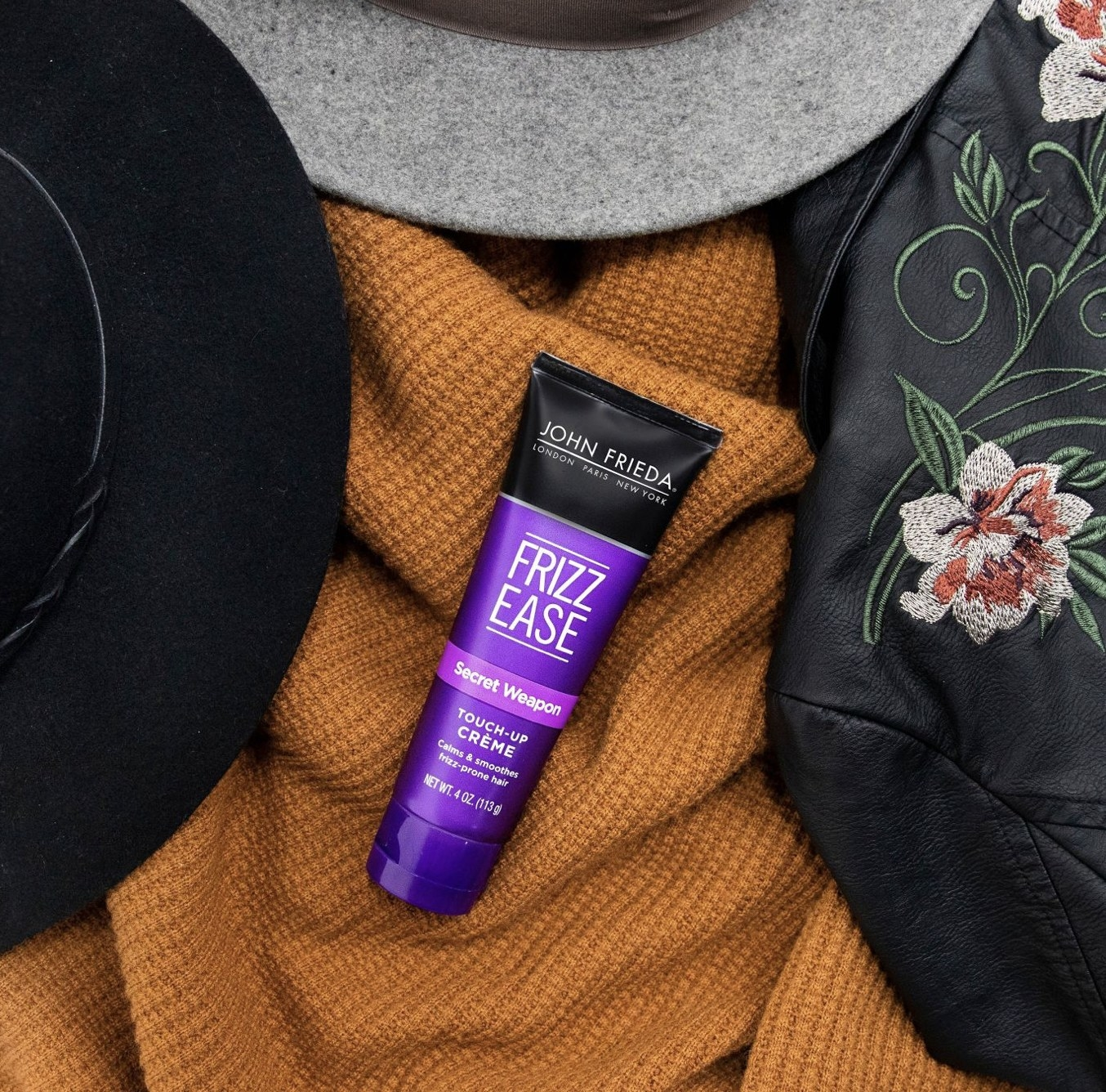 A tube of hair creme
