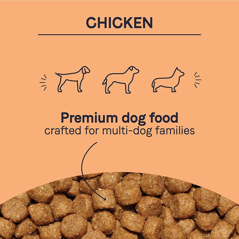 The dog food