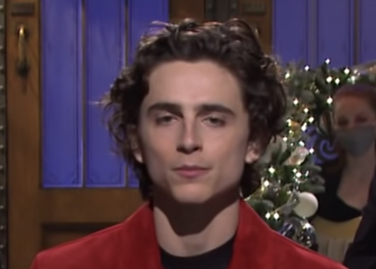 """Timmy during his """"SNL"""" monologue"""