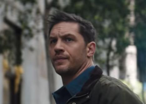 """Tom Hardy in the """"Venom"""" trailer"""