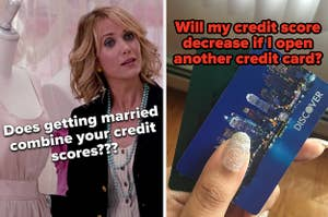 Bridesmaids scene and credit cards