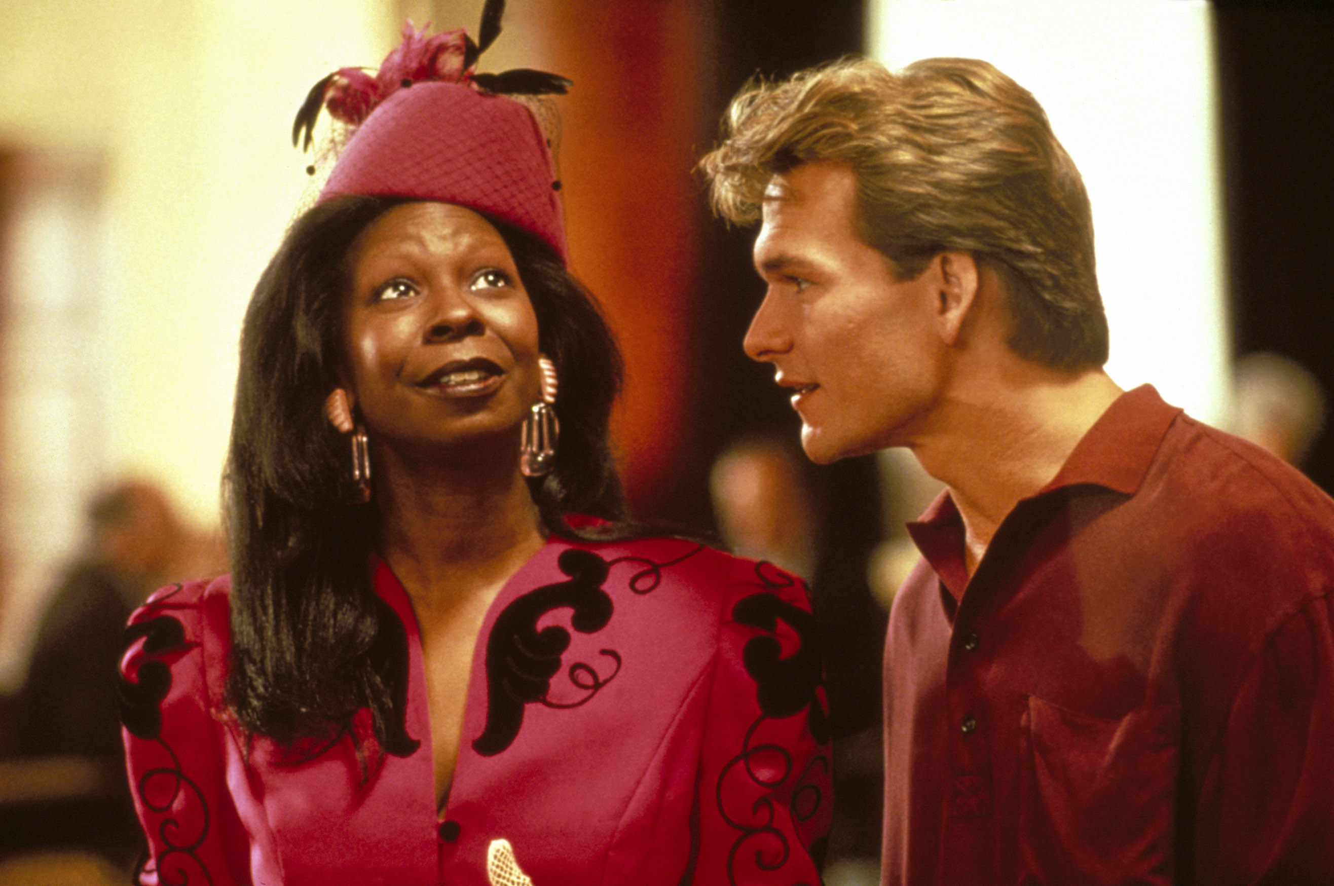Whoopi with Patrick in the film