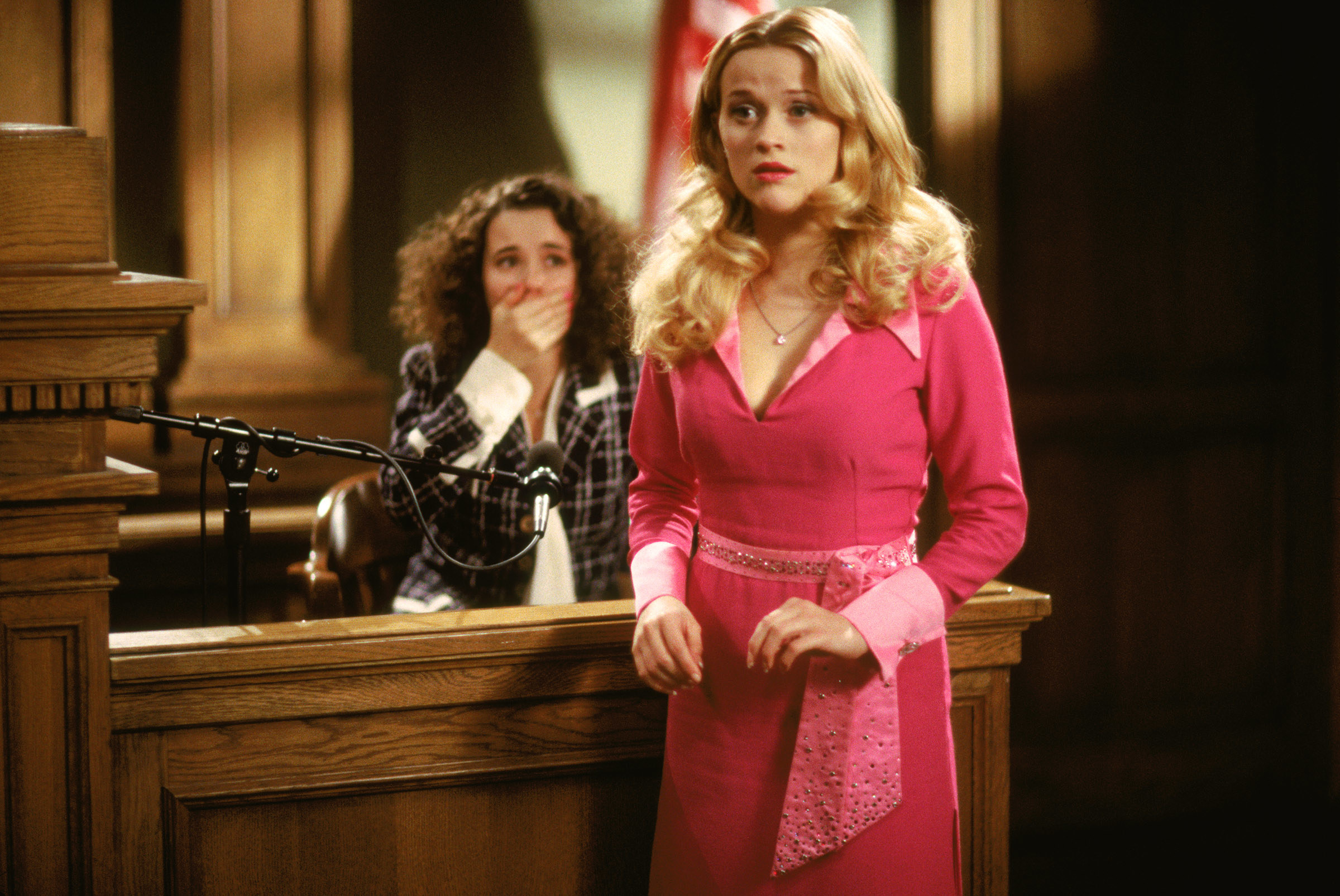 Reese as Elle in court in the film