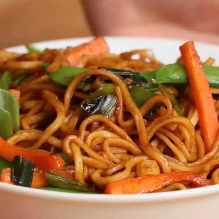Some veggie noodles