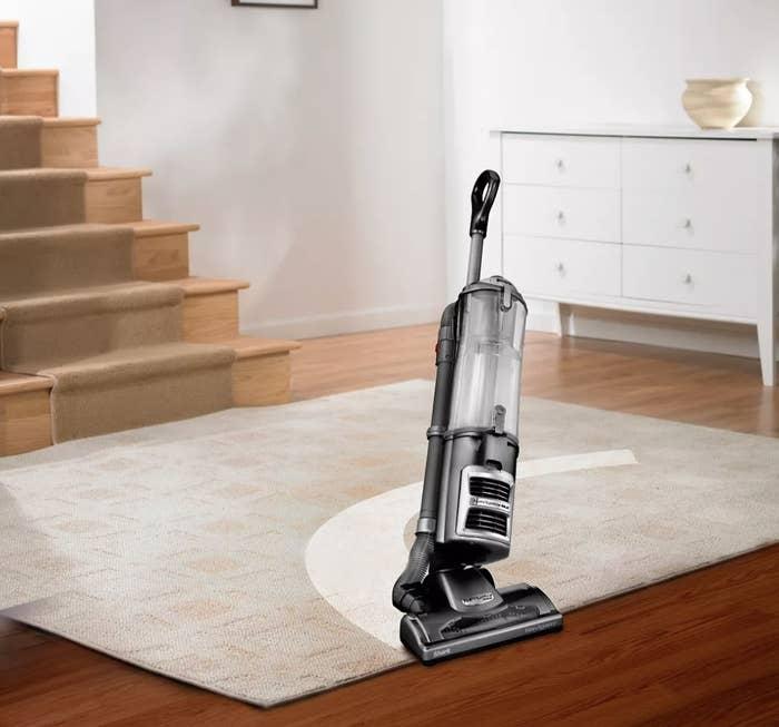 The upright vacuum