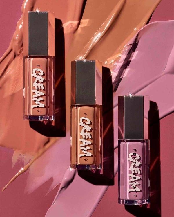 three lip creams