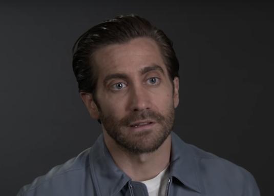Jake Gyllenhaal in an interview