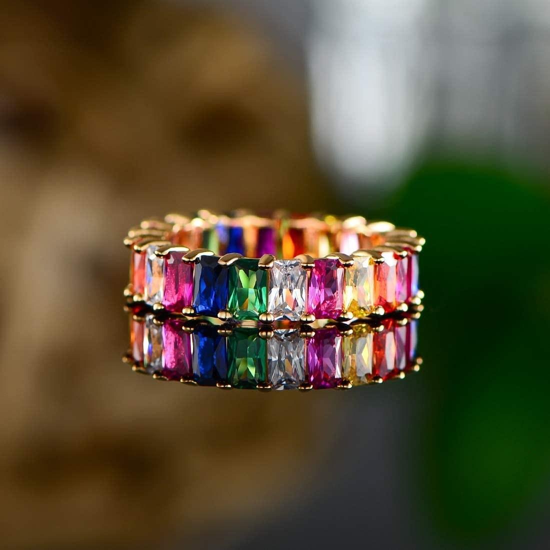 The rainbow ring
