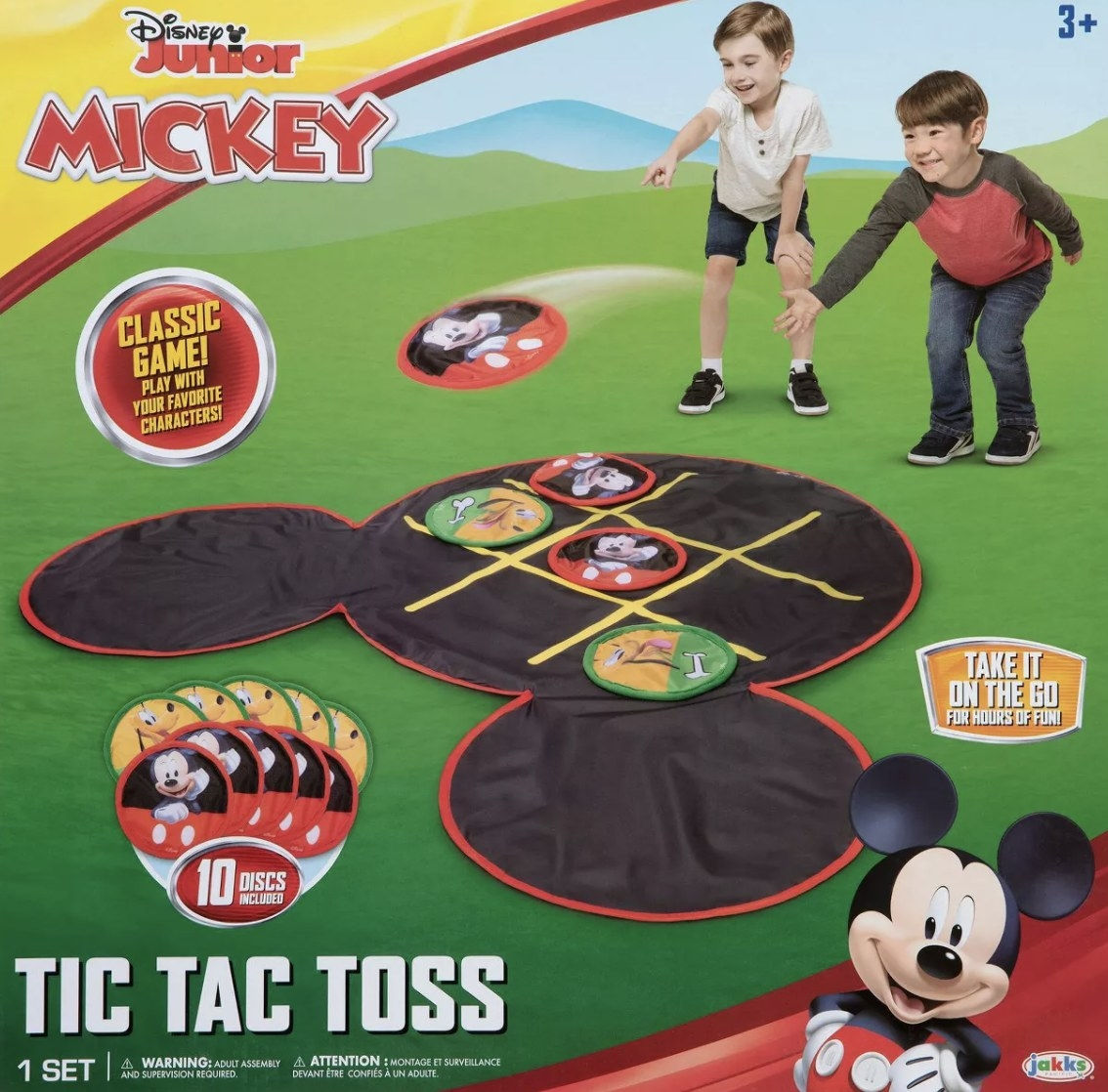The tic tac toss game