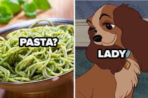 PASTA? LADY