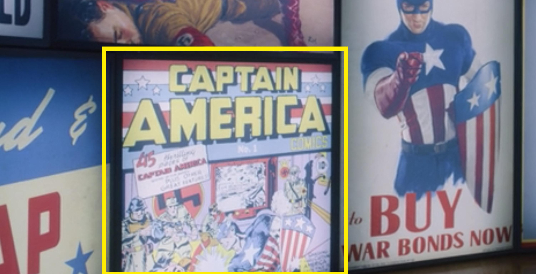 Captain America Issue #1