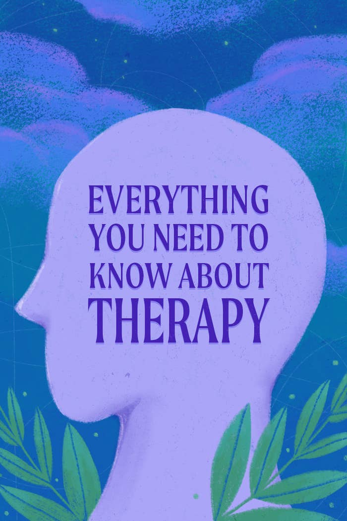 """A title image with text written across it: """"Everything You Need To Know About Therapy"""""""