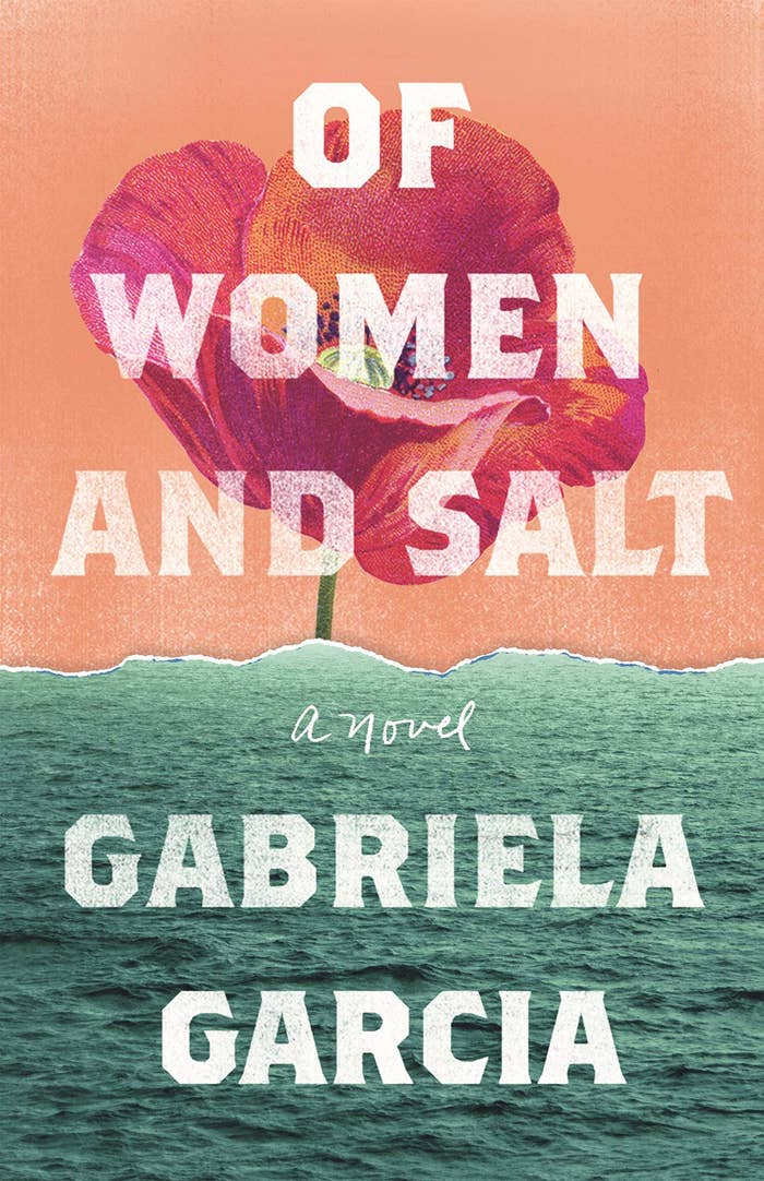 """water-themed cover of """"Of Women and Salt"""""""