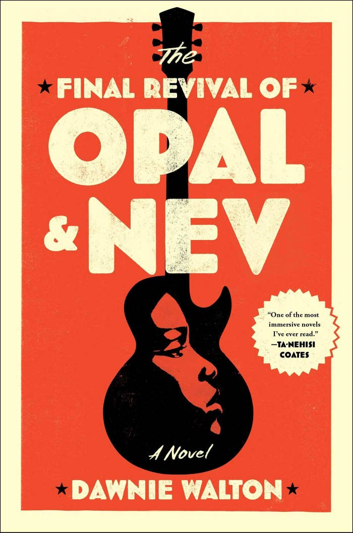 """White, black, and red cover of """"The Final Revival of Opal & Nev"""""""