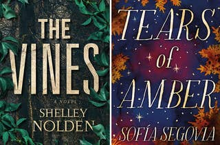 (left) cover for the vines; (right) cover for tears of amber
