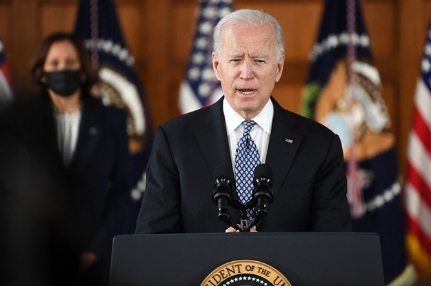 """Joe Biden And Kamala Harris Condemned The """"Scapegoating"""" Of Asian Americans After The Shooting In Atlanta"""
