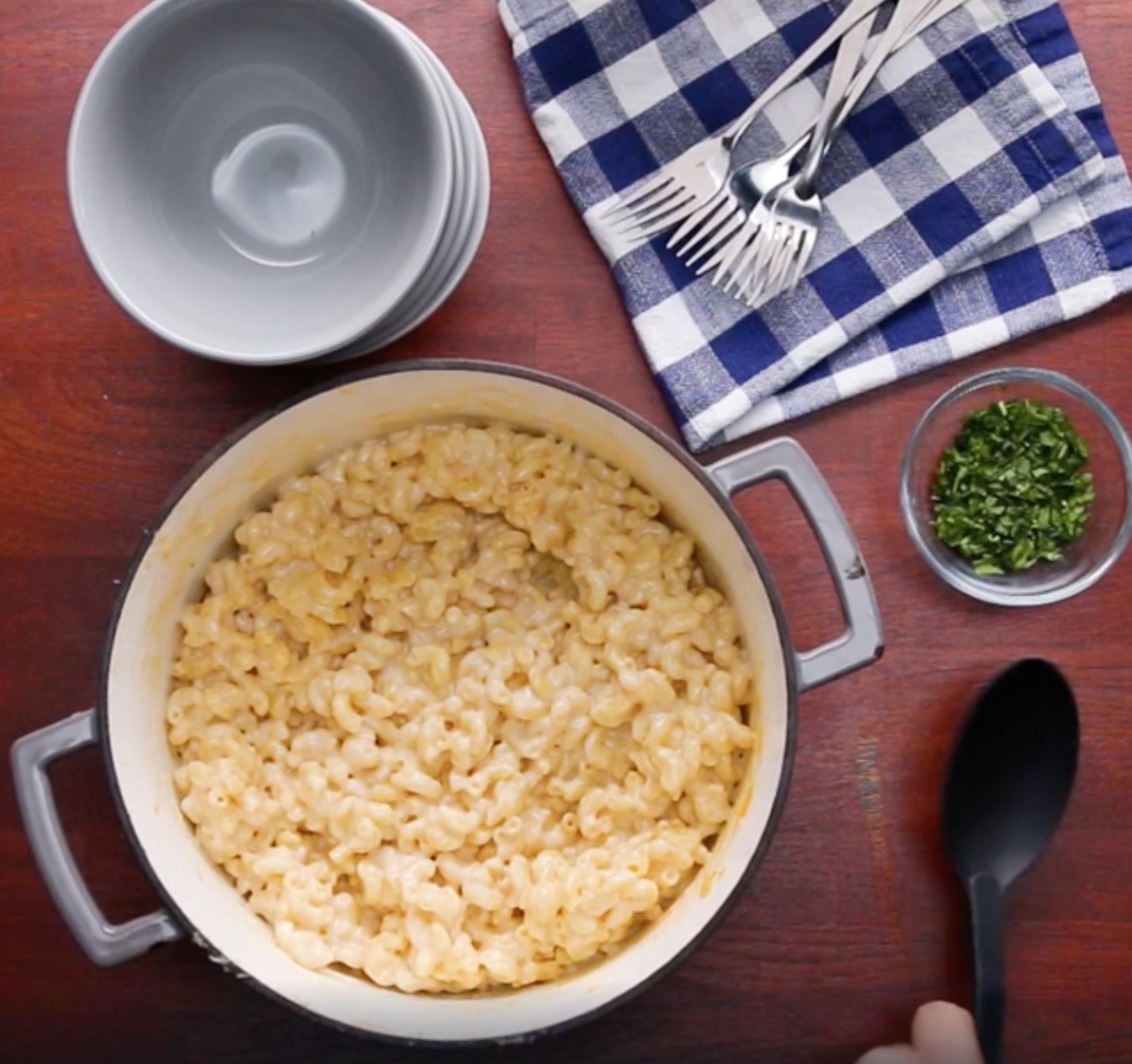 One-Pot macaroni and cheese