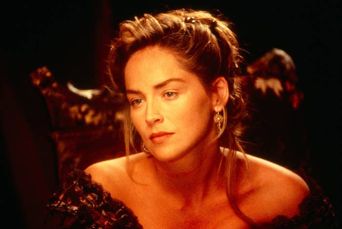Sharon Stone dalam The Quick and the Dead
